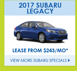 View More Subaru Specials