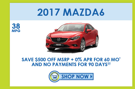 View 2016 Mazda6 Inventory