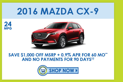 View 2016 CX-9 Inventory