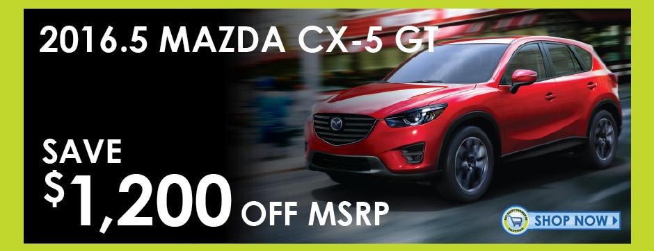 View 2016 Mazda CX-5 Inventory